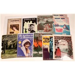 Art of Sheet Music Assortment: California  (124694)