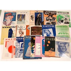 Art of Sheet Music Assortment: Tunes & Stars  (124702)