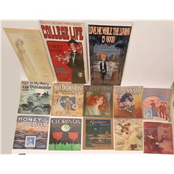 Art of Sheet Music Collection  (124430)