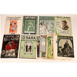 Art of Sheet Music Collection: Irish Music  (124699)