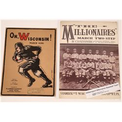 Art of Sheet Music: Baseball & Football  (124708)