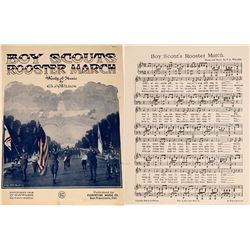 Art of Sheet Music: Boy Scouts  (124713)