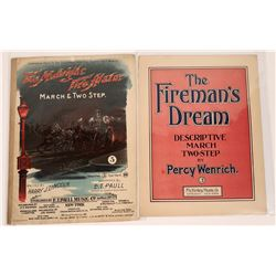 Art of Sheet Music: Firemen  (124711)