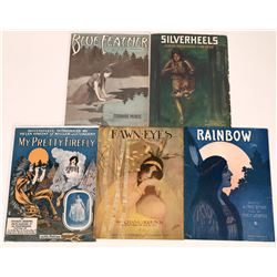 Art of Sheet Music: Native American Covers  (124707)