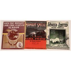 Art of Sheet Music: Railroads  (124696)