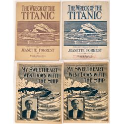 Art of Sheet Music: The Wreck of the Titanic  (124712)