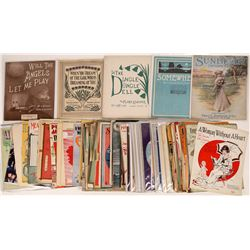Songbooks and Sheet Music, 1890's to 1920's - Lot of Many  (122310)