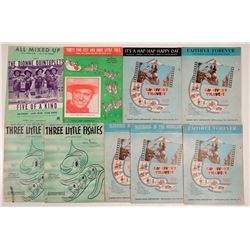 Vintage Children's Sheet Music  (108822)