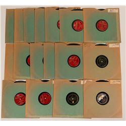 Sinatra & Artie Shaw 78 rpm Records  (116448)