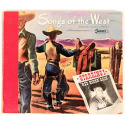 Songs of the West 78 RPM Album  (120862)