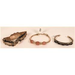 Sterling Silver Bracelets (3)  (121502)