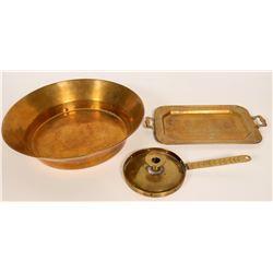Antique Brass Items  (109768)