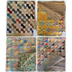 Four Vintage Quilts  (109348)