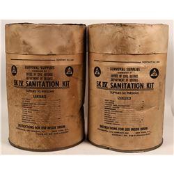 SK IV Civil Defense (Sanitation)  Kits (2)  (117072)
