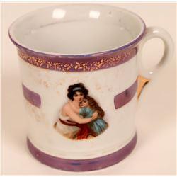 Vintage Pictorial Shaving Mug  (119616)