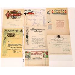 Colorful Letterheads and Billheads  (124680)