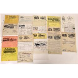Letterhead & Billhead Collection   (124677)
