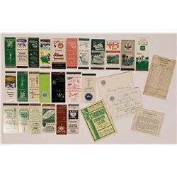 Various Advertising Pieces  (125941)