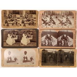 African American Stereoview Cards  (124426)