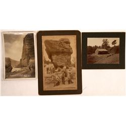 Cabinet Cards and Photos in Western Style - Lot of 4  (122511)