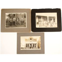 Mounted Photographs of Business Exteriors  (60035)