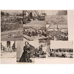 Civil War Reprinted Black & White Photographs from Library of Congress (13)  (116892)