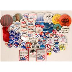 Political Campaign buttons  (110520)
