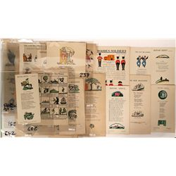 Children's Broadside Collection (22)  (100029)