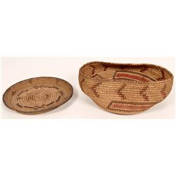 African Baskets (2 Antiques)  (120982)