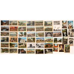 RPC and Litho California Postcards  (120315)