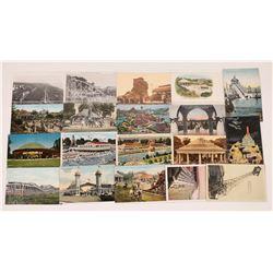 Northern Calif. Amusement Park Postcards  (125272)