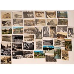 Shasta, Siskiyou, and Trinity Postcards ~ 40  (126203)