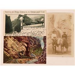 Royal Gorge, Colorado Postcards (2)  (118516)