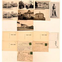 Eastern Colorado Town Postcards Includes Lamar, Julesburg & Sterling (8)  (118398)