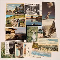 Las Vegas Post Cards.  (125527)
