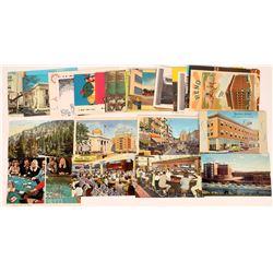 Various Reno Post Cards  (125535)