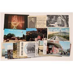 Imlay, Hornsilver, Genoa Post Cards.  (125526)