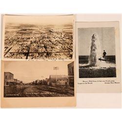 Artesia, New Mexico Postcards (3)  (118468)