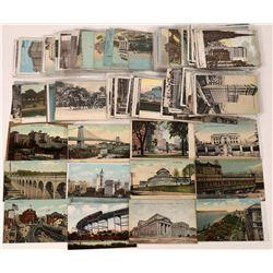 New York City Chromolithograph Vintage Postcard Collection  (126581)