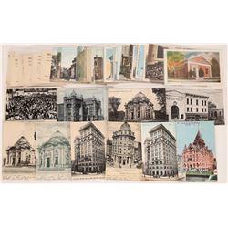 New York Bank Building Postcards and Ephemera ~ 50  (126891)