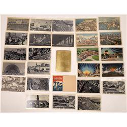 Great Lakes Expo 1936 Postcards - 28 pcs  (126206)