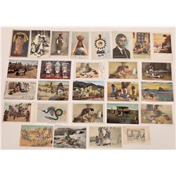 Native American (various) Postcard Group  (125470)