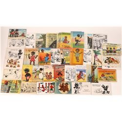 Black History - 1930s-40s Humor Themed Characture PCs  (127104)