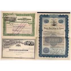 Black History - Black Themed Vignette Stock Certs  (127115)
