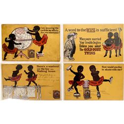 Black History - Gold Dust Advertising PCs  (127102)