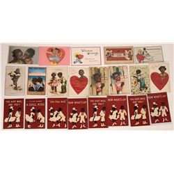 Black History- Valentine Post Card Collection  (127096)