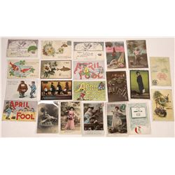 April Fools Postcard Collection  (126606)