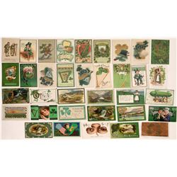 St. Patrick's Day Postcards ~35  (125868)