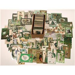 St. Patrick's Day Vintage Post Card Collection  (127053)