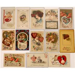 Valentine Winsch Back Type Miscellaneous Art Nouveau Postcards  (126617)